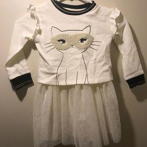 Toddler Girl Cat dress